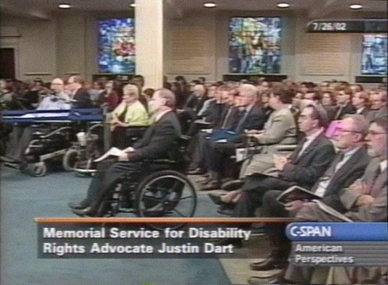 Justin Dart Jr., Hero of the ADA – my hero